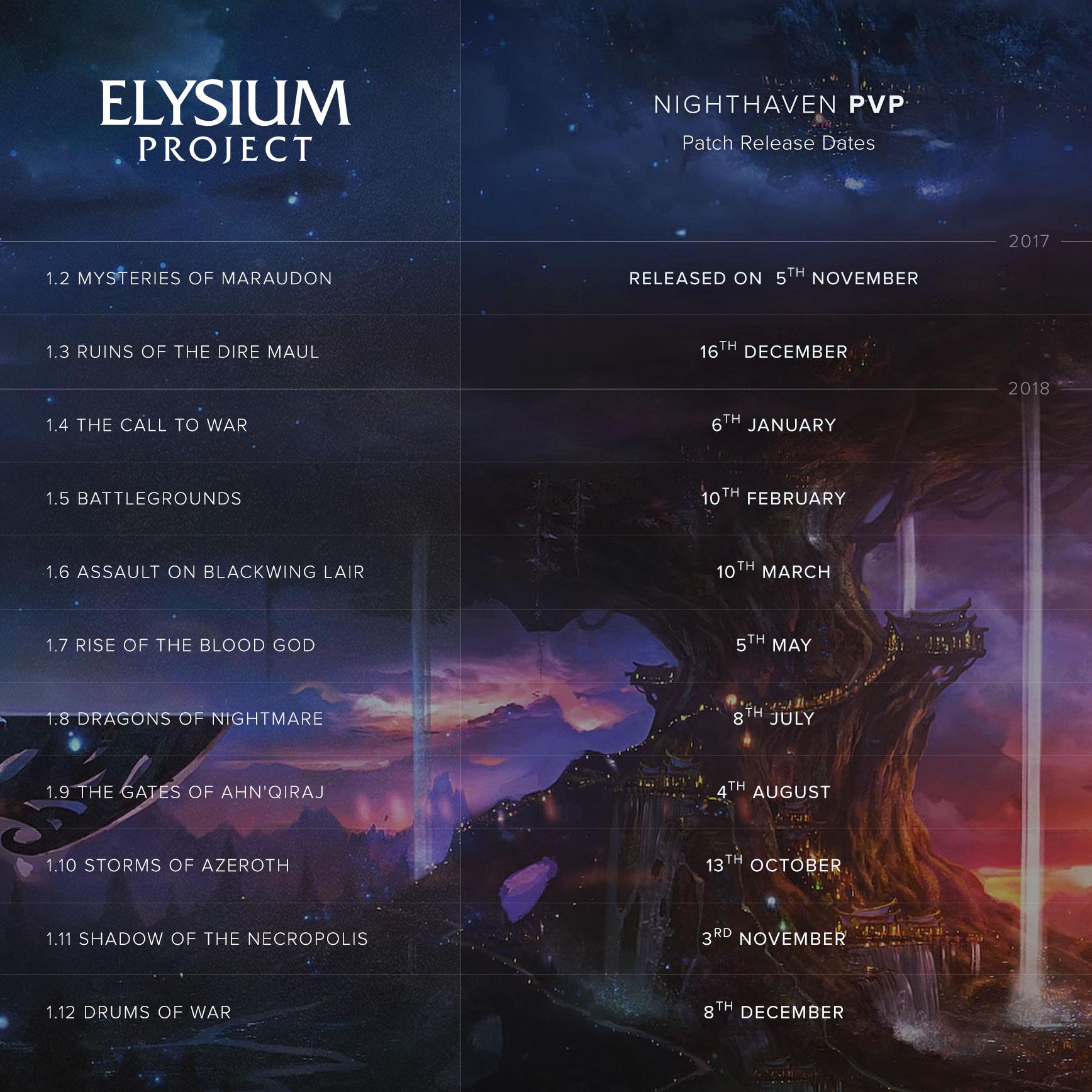 elysium wow
